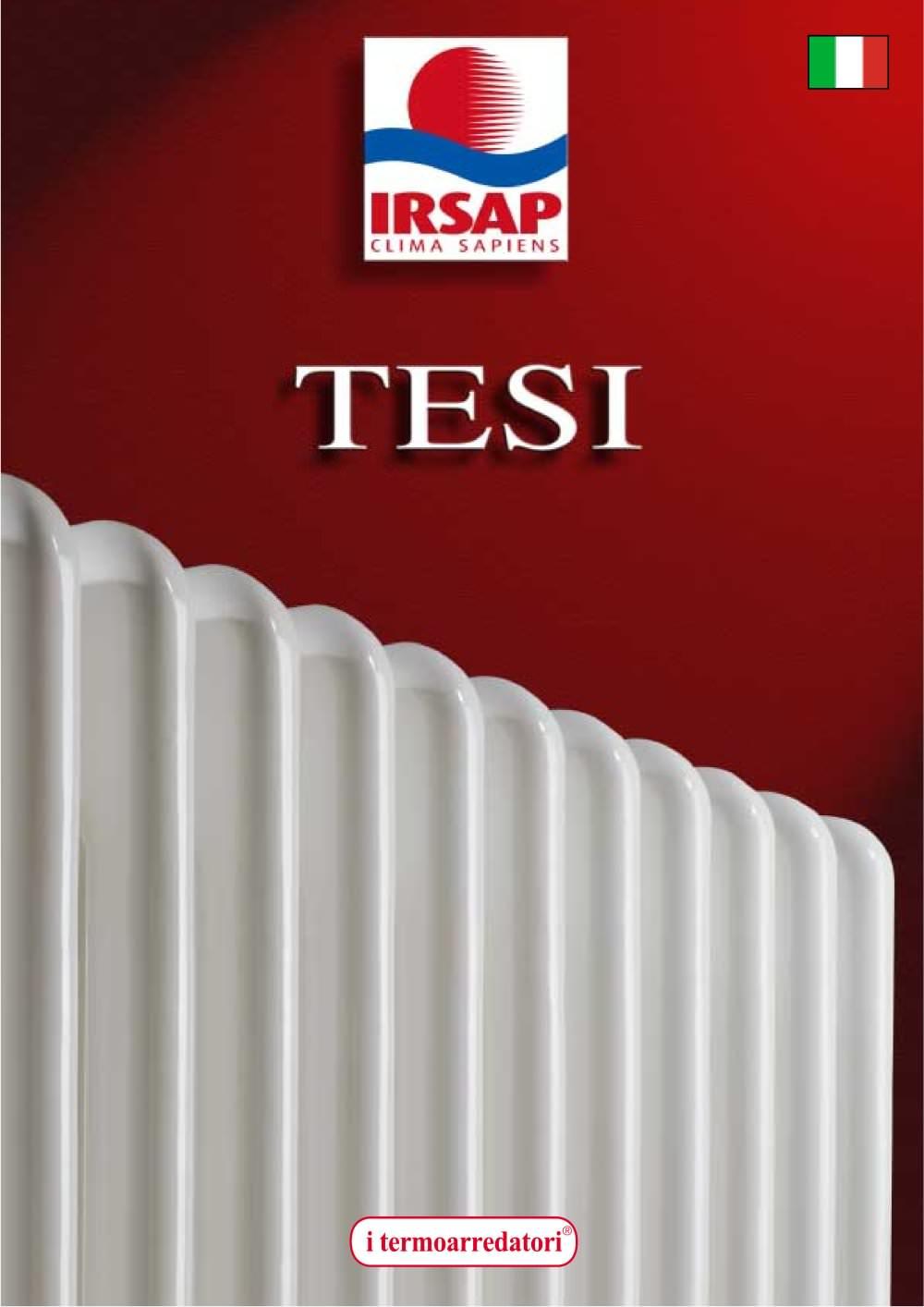 TESI - IRSAP - Catálogo PDF   Documentación   Brochure