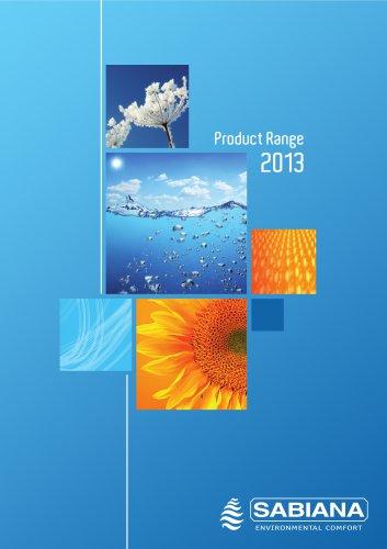 Product Range 2013