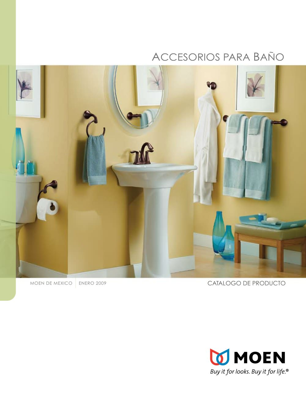 ACCESORIOS PARA BAÑO - Moen - Catálogo PDF | Documentación | Brochure