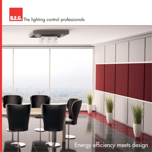Energy efficiency meets design