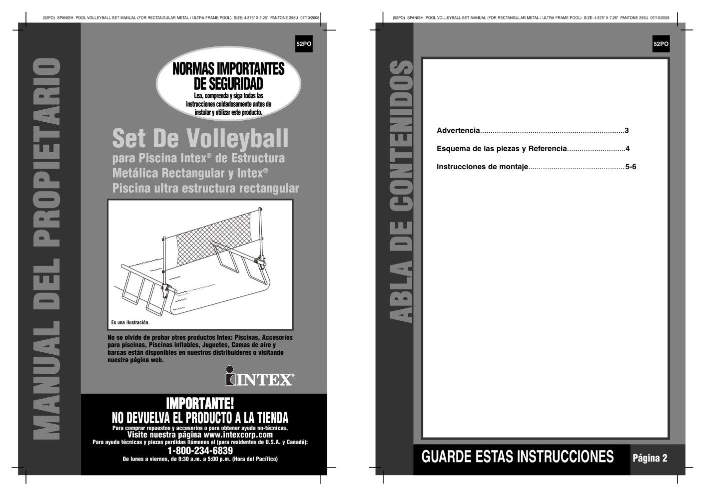 Todos los catálogos y folletos técnicos INTEX - Catálogo PDF ...