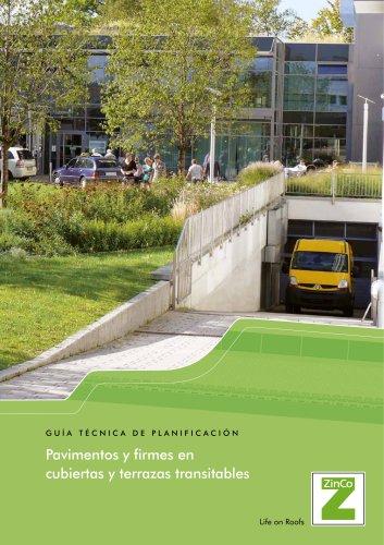 Pavimentos y firmes en cubiertas y terrazas transitables