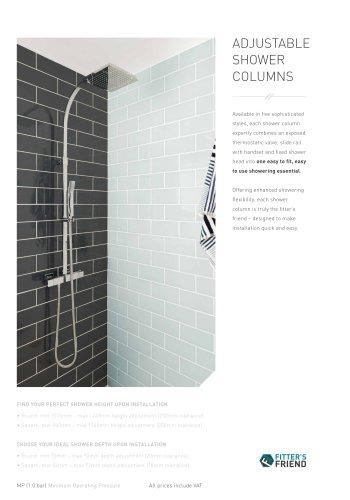 showering essentials