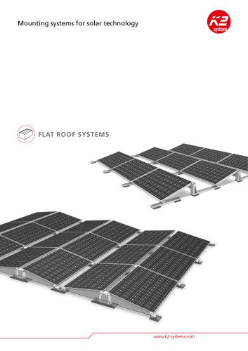 Brochure: flat roof systems
