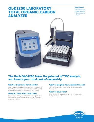 QbD 1200 TOC Analyzer