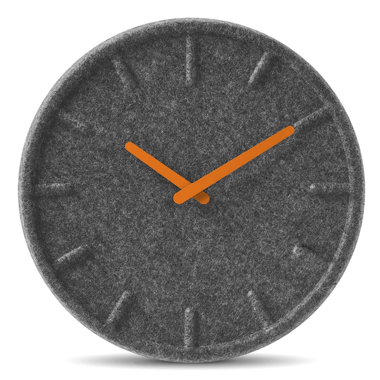 FeltLt17003 Reloj Fieltro Moderno De Analógico Pared BeQrdxCoW