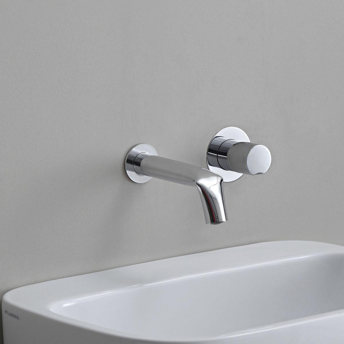 Grifo monomando para lavabo - FL3059 - FLAMINIA - de pared ...