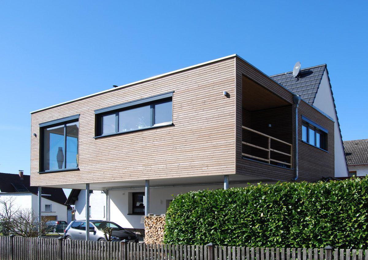 Casa Prefabricada Contemporánea Con Armazón De Madera