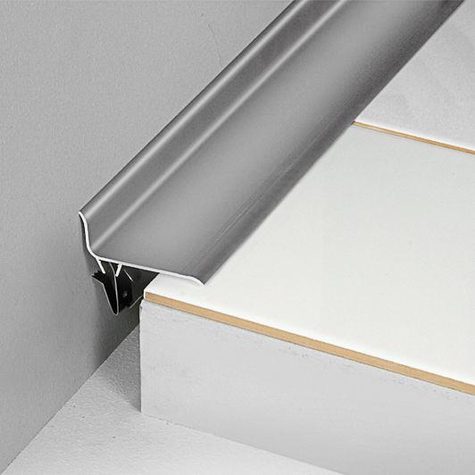 Tapajuntas de aluminio / de PVC / para junta de dilatación ...