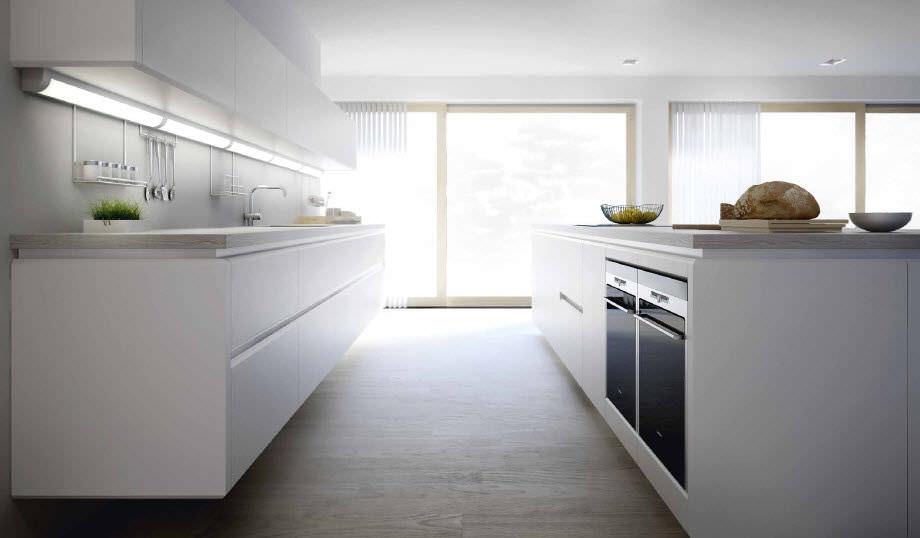 Cocina moderna / de madera / con isla / lacada - SERIES S3 - xey