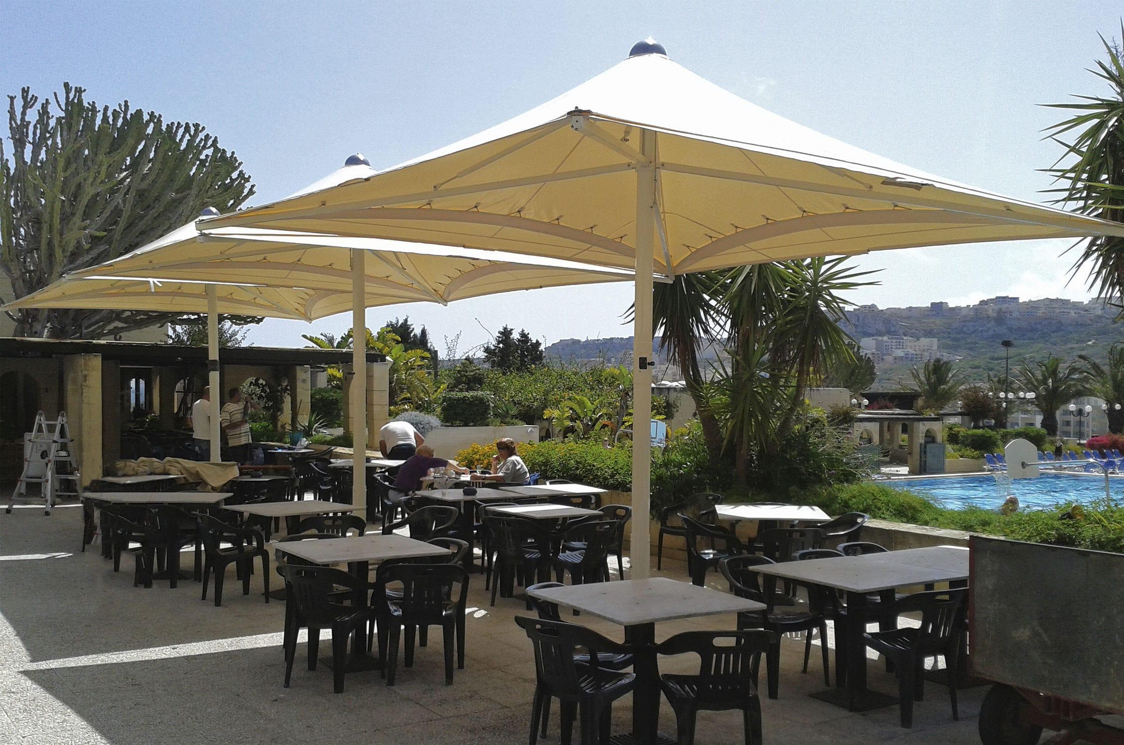 Sombrilla Para Bar Kite Edengarden Patio Umbrellas Para Hotel Para Restaurante Para Piscina Publica