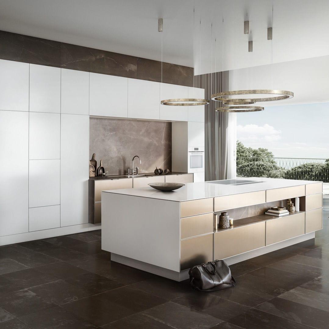 Cocina contemporánea - PURE : SE 19 R - SIEMATIC - de madera