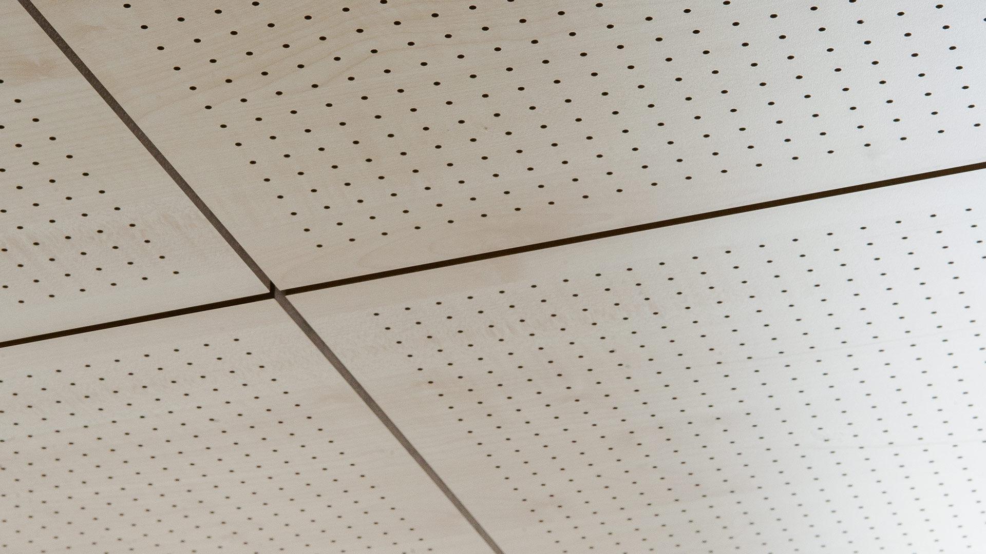 Falso techo acustico