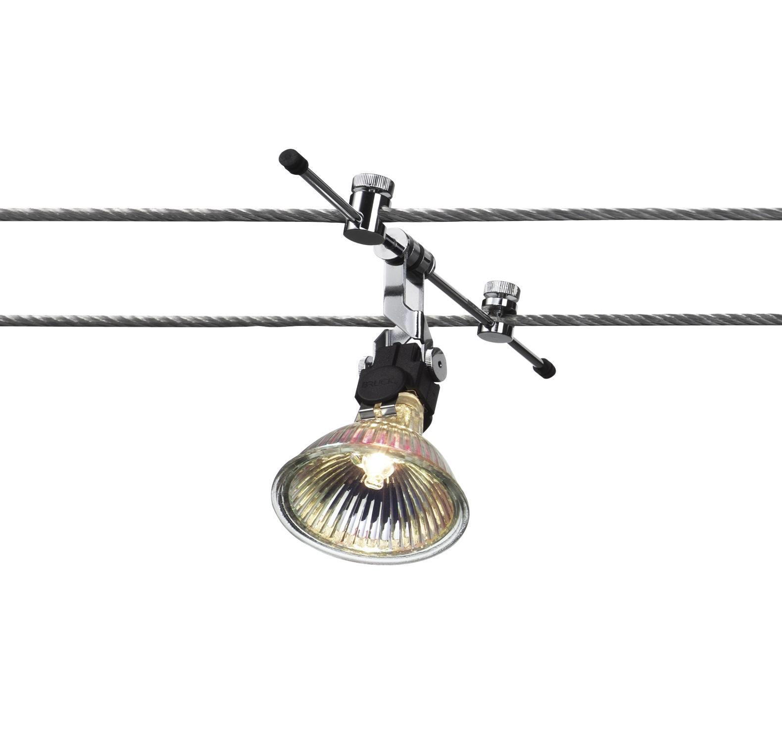 Iluminacion sobre cable