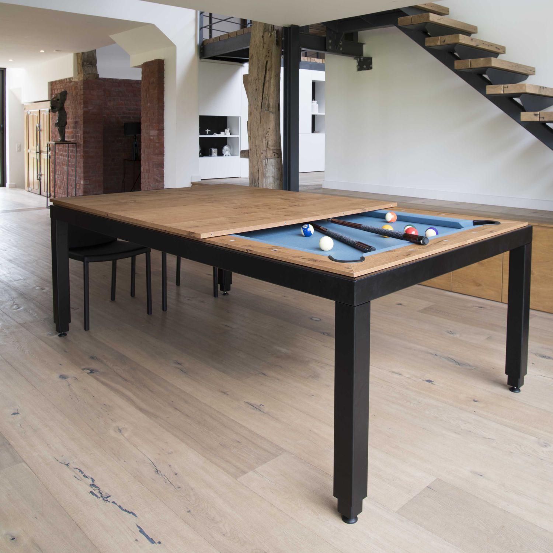 VINTAGE - Mesa de billar moderna / convertible en mesa de comedor / para el  sector servicios by Fusiontables | ArchiExpo