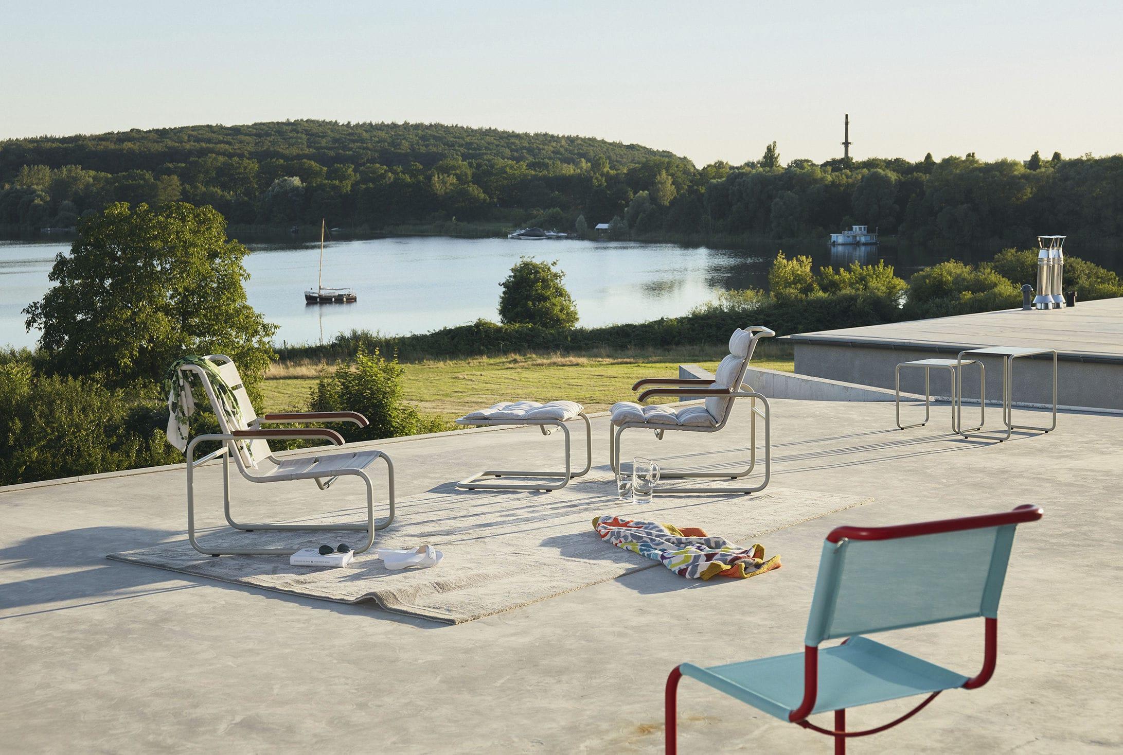 Sill N De Dise O Bauhaus De Madera De Cuero De Acero S 35  # Muebles Bauhaus Caracteristicas