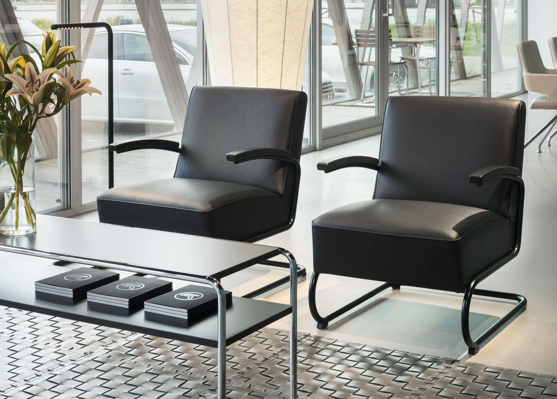 Mesa De Centro De Dise O Bauhaus De Madera De Metal  # Muebles Bauhaus Caracteristicas