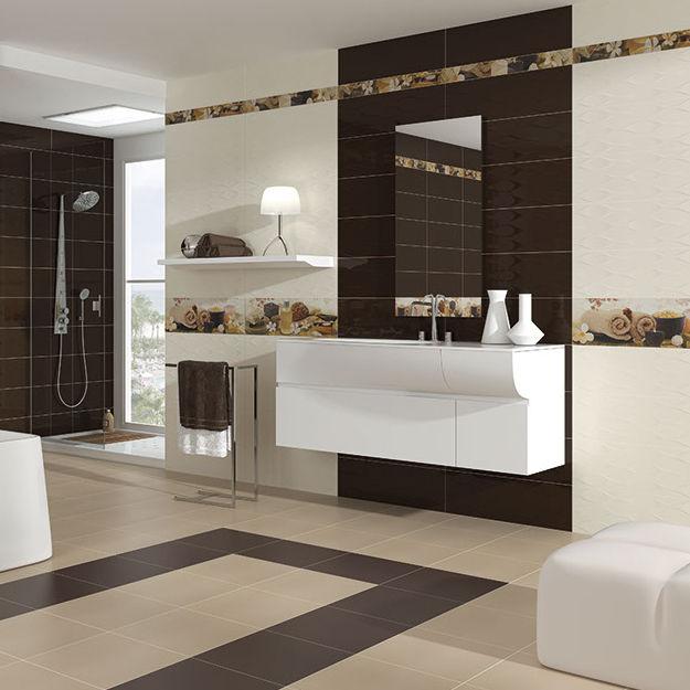 Baldosa de baño - HARMONY - Cerámicas Myr - de pared / de ...