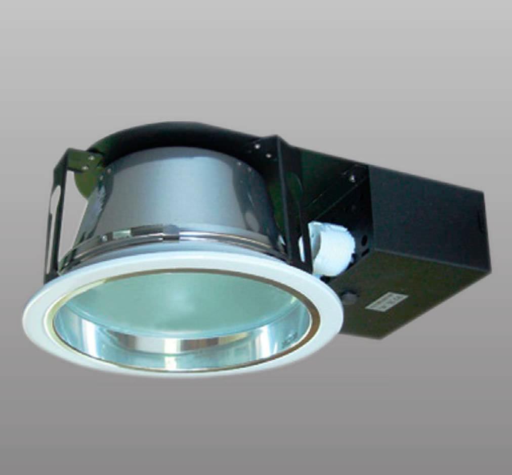 brand new 71e78 1a497 Downlight empotrable / fluorescente compacta / redondo / de ...