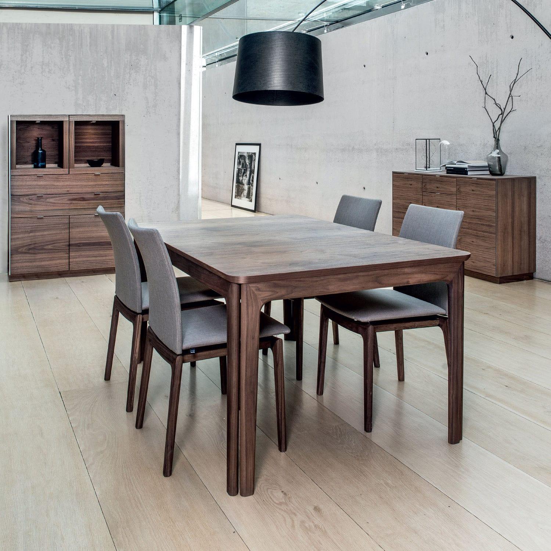 Mesa de comedor moderna / de roble / de nogal / de cerezo #26 Skovby