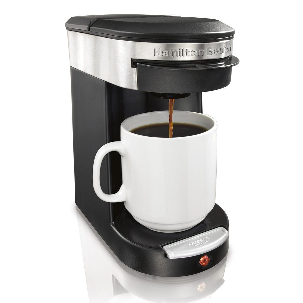Cafetera de filtro 49970 Hamilton Beach monodosis