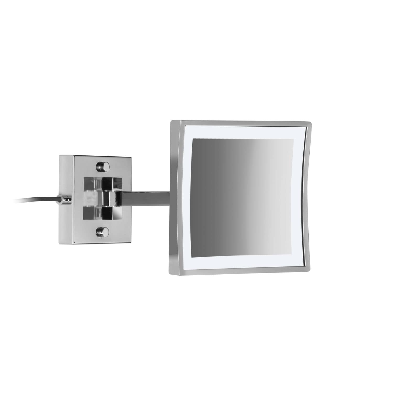 Espejo Bano Aumento Con Luz.Espejo Para Bano De Pared Con Luz Led De Aumento