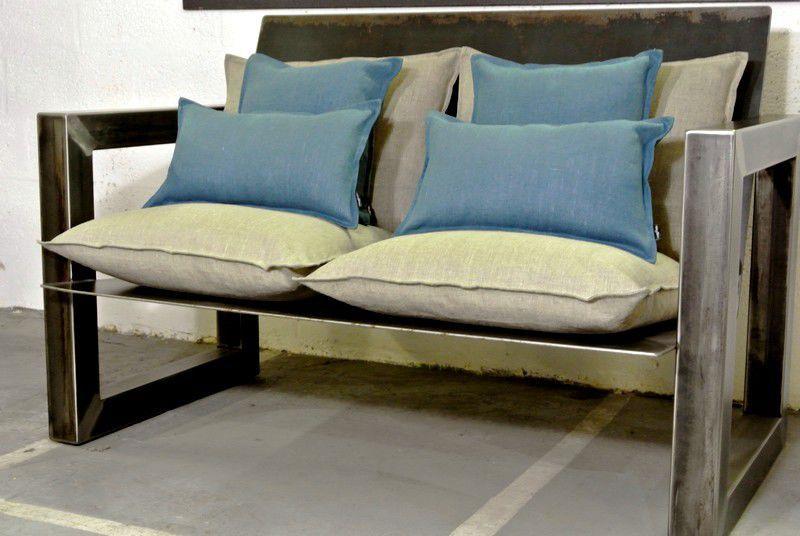 Sofá De Diseño Industrial Para Interior De Jardín Para