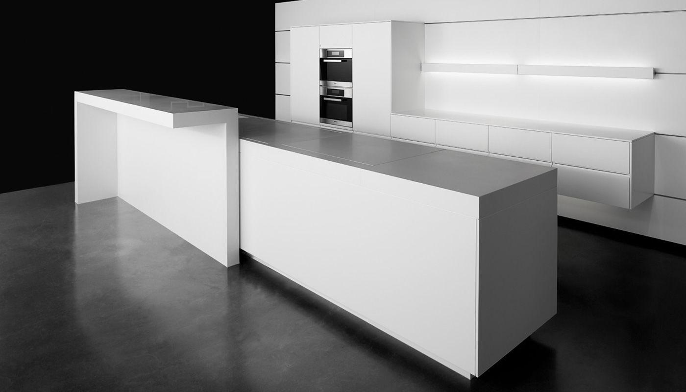 Cocina contemporánea - eggersmann küchen GmbH & Co. KG - de Corian