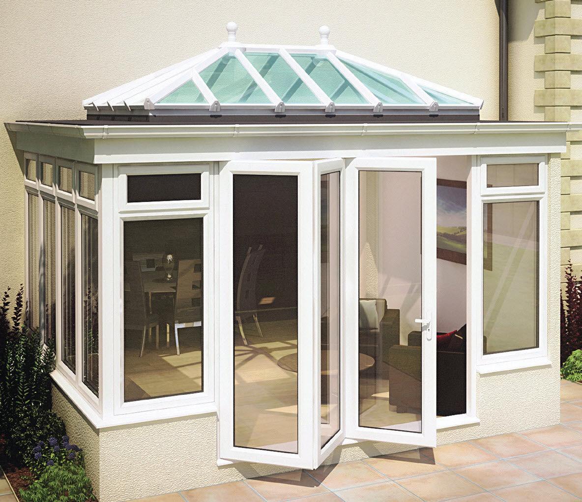 Cerramiento De Terraza De Vidrio De Aluminio De Obra