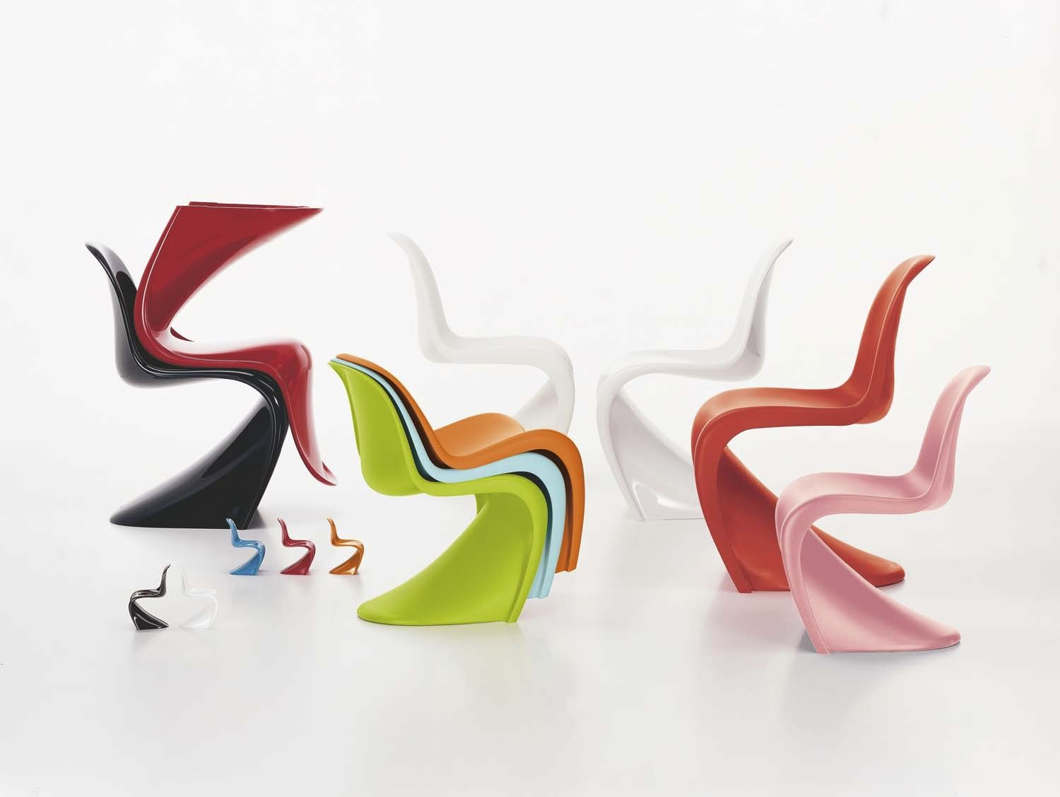 Chaise Panton Verner Panton creativity of ideas: panton chair