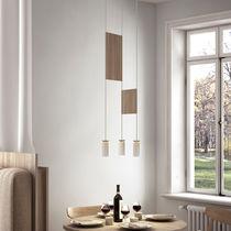 Lámpara suspendida / de metal / contemporánea / LED