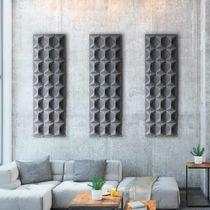 Panel acústico mural / de poliéster / coloreado / aspecto tela