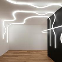 Luminaria suspendida / montada en superficie / LED / lineal