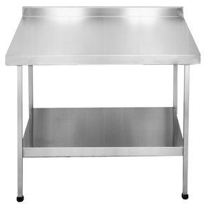 encimera de acero inoxidable / para el sector servicios / para cocina