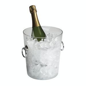 champanera de vidrio