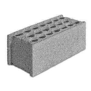 bloque de hormigón reforzado con fibra