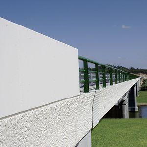cornisa para la construcción de puentes