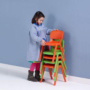 silla contemporánea / para niños / apilable / 100 % reciclable
