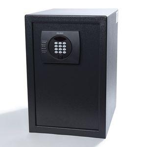 caja fuerte electrónica / de libre instalación / empotrable / para habitación de hotel