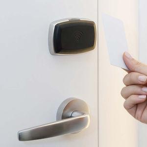cerradura RFID / electrónica / mecánica / para puerta