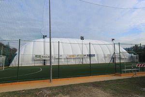 estructura hinchable para cubierta