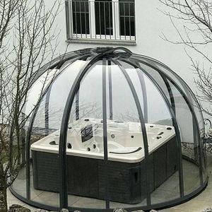 cubierta para spa de aluminio