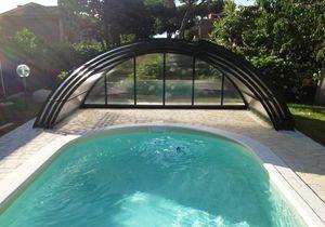 cubierta para piscina baja