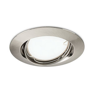 downlight empotrable / LED / halógeno / redondo
