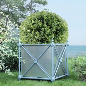 jardinera de aluminio