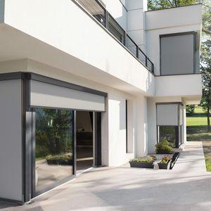 toldo vertical / motorizado / para terraza / de balcón