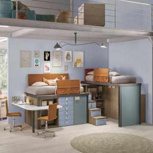cama alta / individual / contemporánea / para niños
