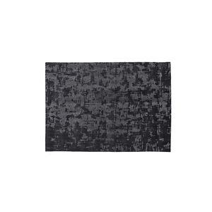 alfombra contemporánea / con motivos / de seda / rectangular