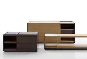 cómoda contemporánea / de madera / de MDF lacado