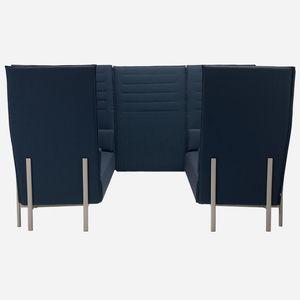 sofá modular / contemporáneo / de tejido / para el sector servicios